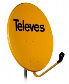 7525 -8424450075258 TELEVES - Kit SAT 800 Digital Monobloco Parábola 800 + LNB Monobloco Receptor Digital, Ref.7118 + LNB Monobloco, Ref.7611