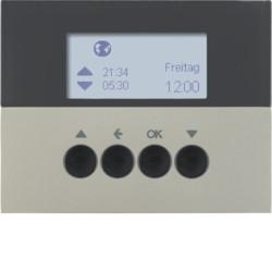 85741173 - K.1/K.5 - prog. horário est, aço inox BERKER EAN:4011334375203