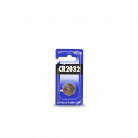 9000011 - 4976680200763 Bateria de lítio FUJITSU CR2032 3V, Blister 1 unid.