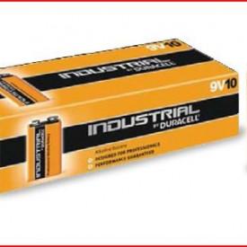 9000138 - 8433373050402 Caixa 10 pilhas alcalinas Duracell Procell de 9V