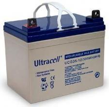 Bateria de Gel 12V 35Ah (195 x 130 x 159 mm) - Ultracell