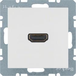 BERKER - 3315428989 - S.1/B.x - tomada HDMI, branco 23