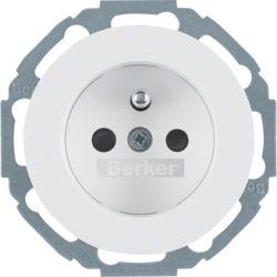 BERKER - 6765792089 - R.classic - tomada FR obtur., branco 23