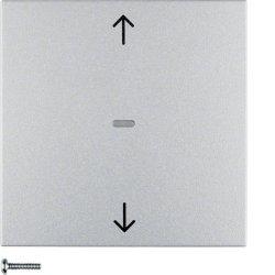 BERKER - 85241183 - B.7 - teclas estores, alumínio mate 25