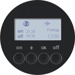 BERKER - 85745231 - R.1/R.3 - progr. horário KNX RF, preto 25