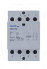 CHINT - CONTACTOR 3P 12A/AC3 1NC 230VAC NC131201230