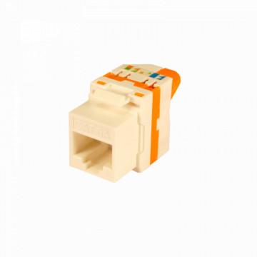 Conector Par de Cobre RJ45 UTP Cat 6A fêmea