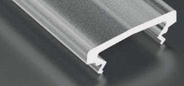 DF2ST - Difusor Alto Semi-Transparente Linha BASIC - Quant. fornecida = 1 un