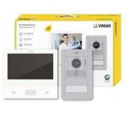 ELVOX Kit de videoporteiro monofamiliar Due Fili Plus - K40507/M