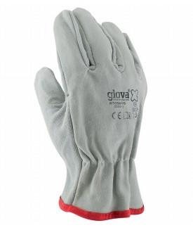 Equipamentos de Protecção - 5758 - Luva Mista Crute Pele Cinza 10