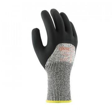 Equipamentos de Protecção - 5817 - Luva A-Corte Nylon/Fibra Vidro 3/4 PU/Nitrilo Foam 9