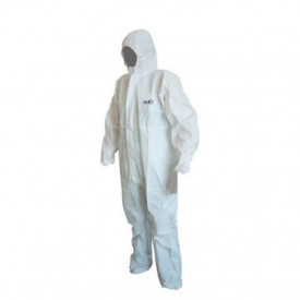 Equipamentos de Protecção - 6068 - Fato Macaco em Polipropileno Tipo 5-6 T: XXL