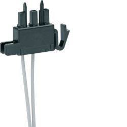 HYC352H - Ligador p/auxiliar 2 fios aparelho HAGER EAN:3250613121495