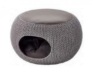 KETER CURVER 228814 Cozy Pet Home Knit P(cm)5,7 A(cm)24 L(cm)58