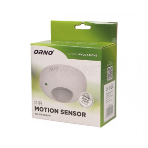 OR-CR-203 ORNO - Detetor de Movimento 1200W IP20 360º saliente