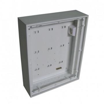 Quadro Viseu CAIXA FUNDO PARA ATI/CATI MODULAR VISBOX 400x500x120 (PARA 10 ESPAÇOS) VB.600
