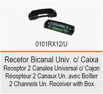 ROGER Recetor Bicanal Univ. c/ Caixa RX12/U