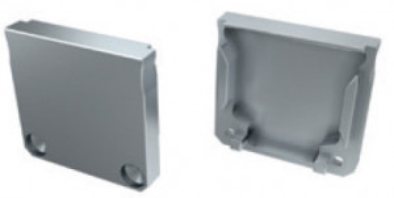 TP121 - Topo Plastico Silver P/Perfil DUBLIN - Quant. fornecida = 1 un