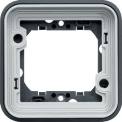 WNA401 - cubyko - Quadro x1, cinzento HAGER EAN:3250617174411