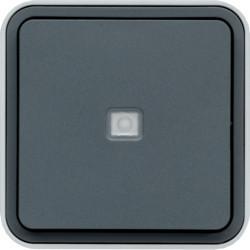 WNC023 - cubyko s - Bot.simples aviso/sinalz, cnz HAGER EAN:3250617170239
