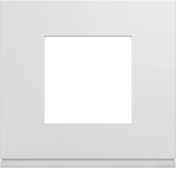 WXP0002 - gallery 2M Quadro x1, branco HAGER EAN:3250617199049