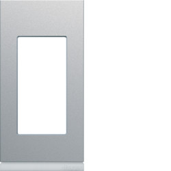WXP0101 - gallery 1M Quadro x1, alumínio HAGER EAN:3250617199193