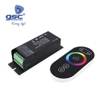 001501518 - Controlador para fitas de LED SMD RGB 216W 12V-24V 8433373015180