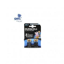 009000121 - 5000394002692 Pilha alcalina Duracell Ultra LR03 (AAA) Blister 4
