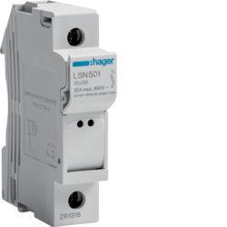 01 - LSN501 - 3250614120077 Corta-circuitos 1P 32A 400V L38 1M HAGER