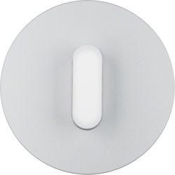 1001207400 - R.classic - tecla rot., Alumínio/branco BERKER EAN:4011334508366