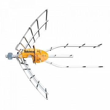148902 Antena Digital TDT UHF HD ELIPSE (C21-60) LTE790 + Alimentador - TELEVES