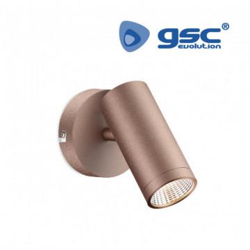 202000001 - Refletor de teto único GU10 Max.60W Cobre 8433373018365