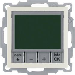 20448982 - S.1/B.x - termóstato programável, creme BERKER EAN:4011334354697