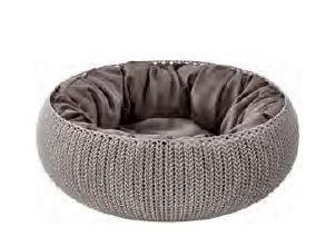 228812 KETER CURVER Cozy Pet Bed Knit
