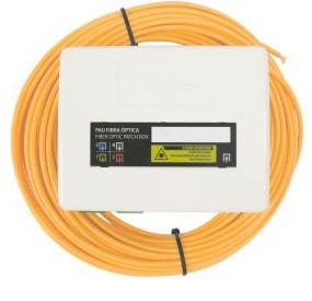 231526 -8424450183793 TELEVES - Repartidor de Cliente de Fibra Óptica 2 a 4 Saídas, 2 fibras de 100m pré-conectorizada (1)(2)