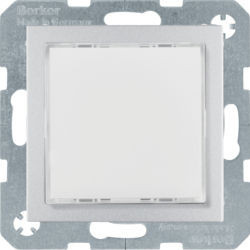 29511404 - S.1/B.x - Sinalizador LED RGB, alum mate BERKER EAN:4011334414278
