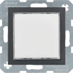 29531606 - S.1/B.x - Sinaliz. LED branco, antrac mt BERKER EAN:4011334414339
