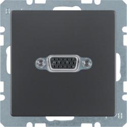 3315406086 - Q.x - tomada VGA, antracite BERKER EAN:4011334379775