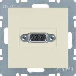 3315418982 - S.1/B.x - tomada VGA paraf., creme BERKER EAN:4011334341765