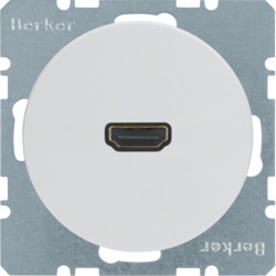 3315432089 - R.1/R.3 - tomada HDMI ficha 90º, branco BERKER EAN:4011334370970