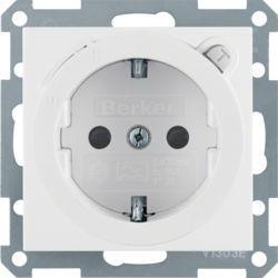 47088989 - S.1/B.x - Schuko diferenc. 30mA, branco BERKER EAN:4011334280477