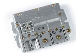"543702 -8424450143735 TELEVES - Repartidor Interior (5-2400MHz) 4D ""Easy F"" 8dB DC"