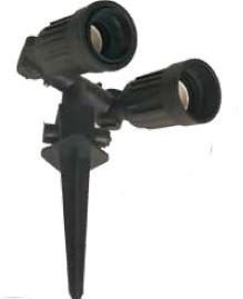 700453 - 8436021944535 Estacas duplas para jardim 230V IP44 50Hz Max.150W