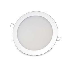 702132 - 8433373021327 Downlight embutido redondo de LED 20W - Branco 6000K