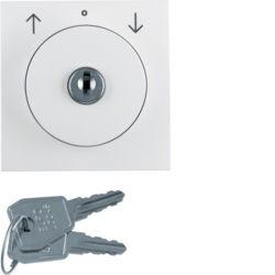 BERKER - 1082898900 - S.1/B.x - int.rot. chave estores, branco 23