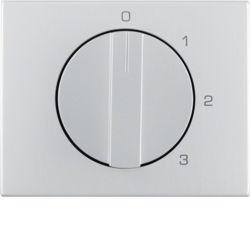 BERKER - 1087710300 - K.1/K.5 - botão rotat. 0-1-2-3, alumínio 23