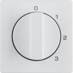 BERKER - 1096608900 - Q.x - botão rotativo 0-1-2-3, branco 23