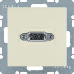 BERKER - 3315408982 - S.1/B.x - tomada VGA, creme 23