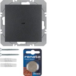 BERKER - 85655285 - S.1/B.3/B.7 - BP simples KNX RF, antr mt 25