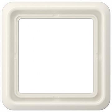 CD 581 WU W Quadro branco Creme de 1 dobra JUNG